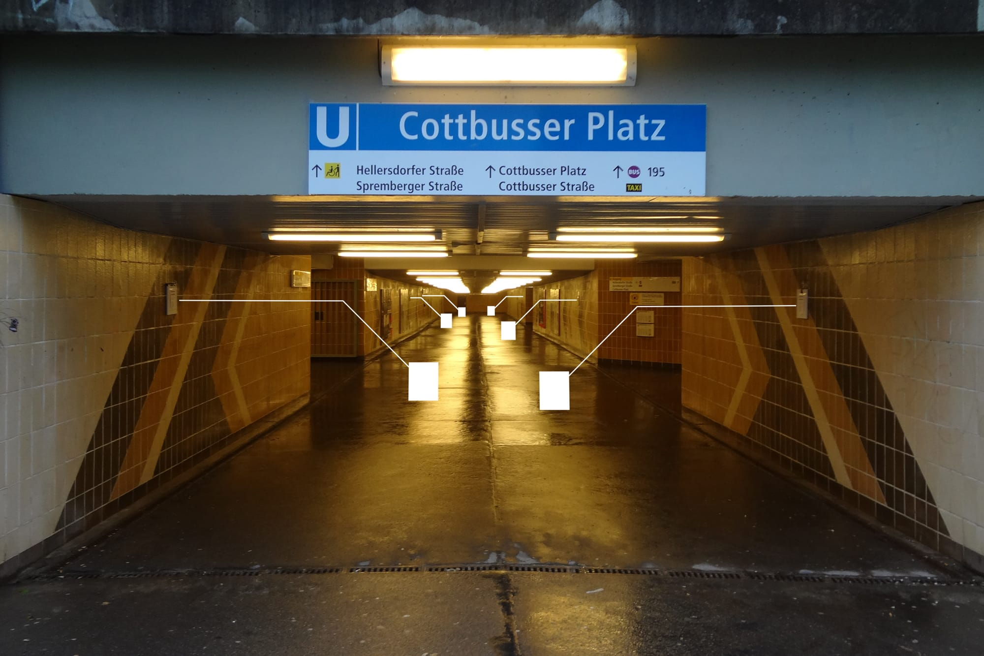 Tunnel at Cottbusser Platz